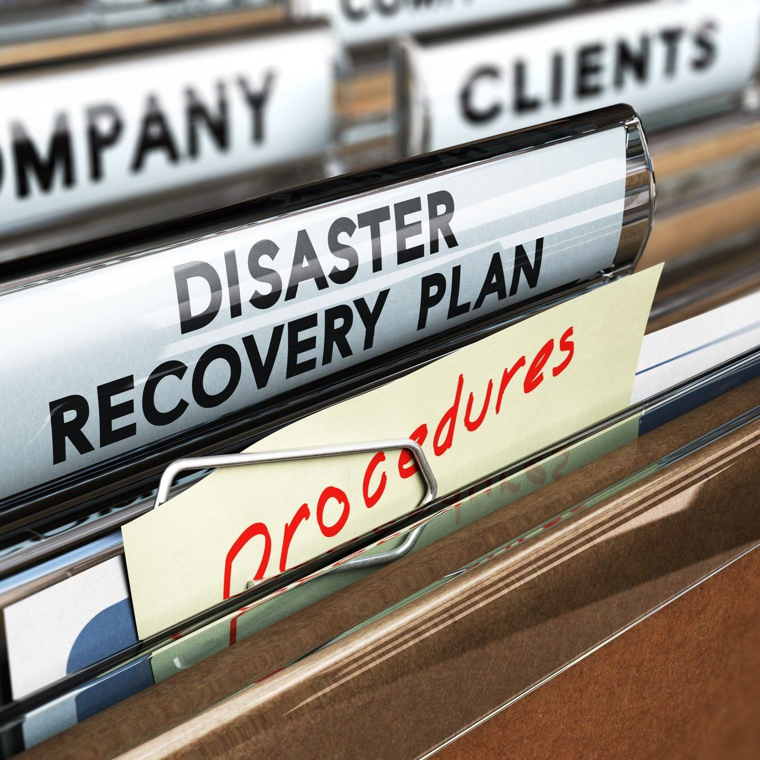 filing label disaster recovery